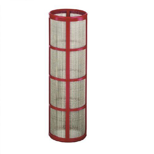 Elemento-Filtrante-Malla-50-15941-Acero-Inoxidable-Polimero-Rojo